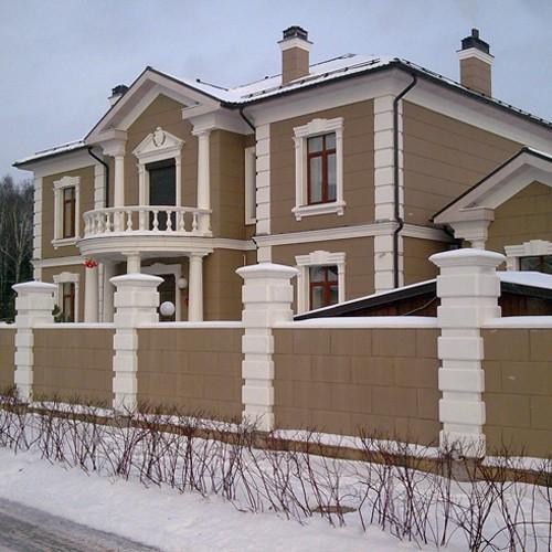 Эстетичность и практичность фасадного декора