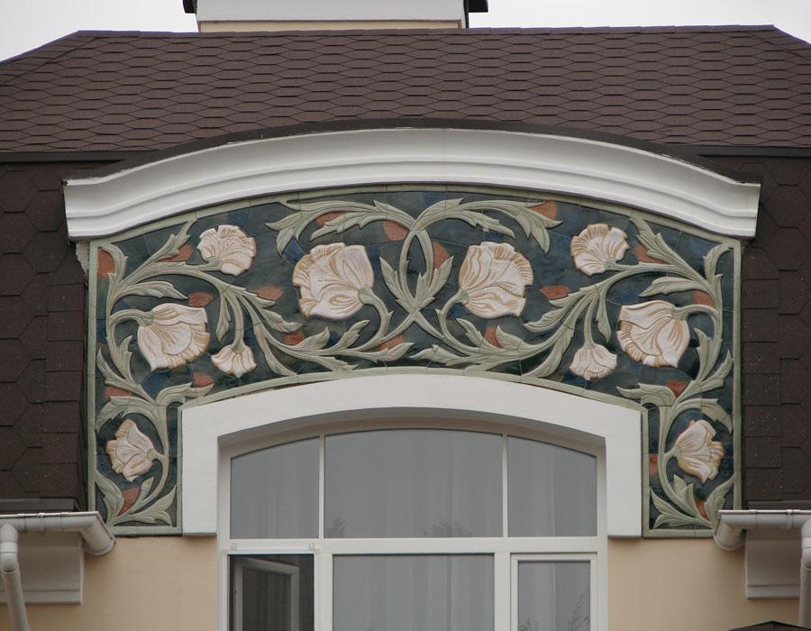 Красота и стиль фасадного декора